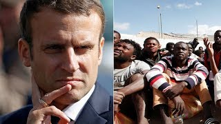 Boots on the ground? Macron urges military action in Libya to fight human trafficking