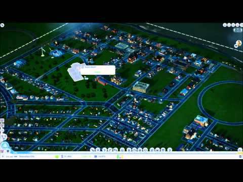 SimCity 5 Solo Let's Play S01E08 - Education City Part 2