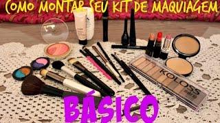 Como montar seu kit maquiagem básico ♥Por Vivy Rodrigues
