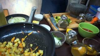 Сабджи - национальное индийское блюдо