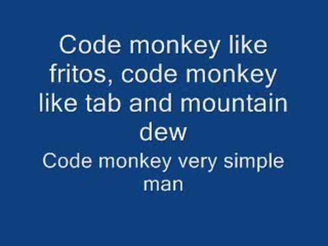 Code Monkey Lyrics - YouTube