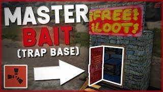 RUST | The MASTER BAIT TRAP BASE! | Rust Trap Base Gameplay