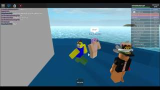 ROBLOX : Playing Sinking Ships with TCP