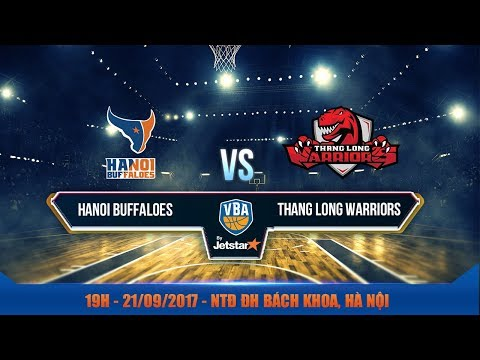 #Livestream || Game 12: Hanoi Buffaloes vs Thang Long Warriors 21/09 | VBA 2017 by Jetstar