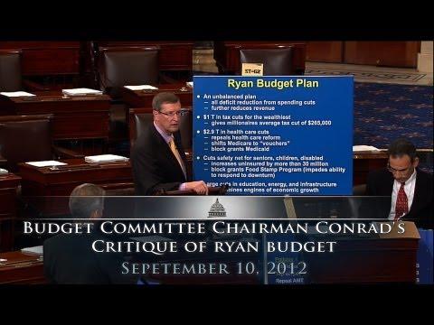 Budget Committee Chairman Conrad