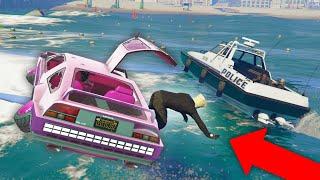 KICKING PEOPLE OUT OF MY CAR! *HILARIOUS!* | GTA 5 THUG LIFE #306