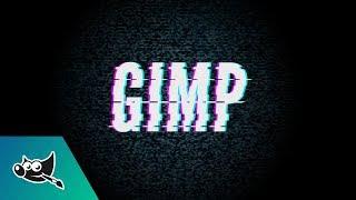 GIMP Tutorial: Glitch Text Effect