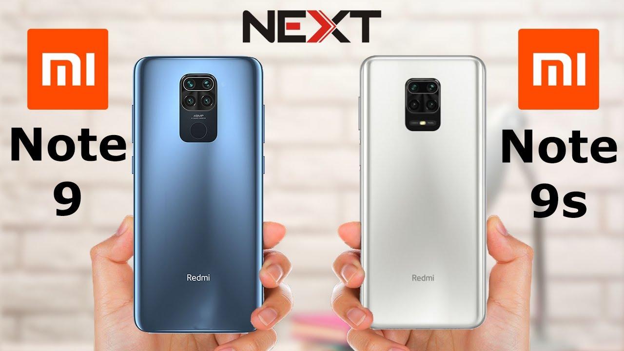 Redmi Note 9 vs Redmi Note 9s