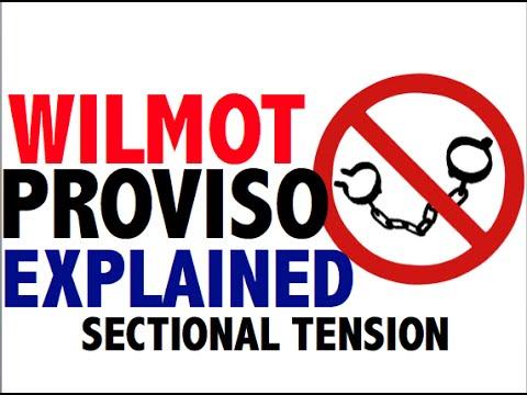 Wilmot Proviso & Tallmadge Amendment ed