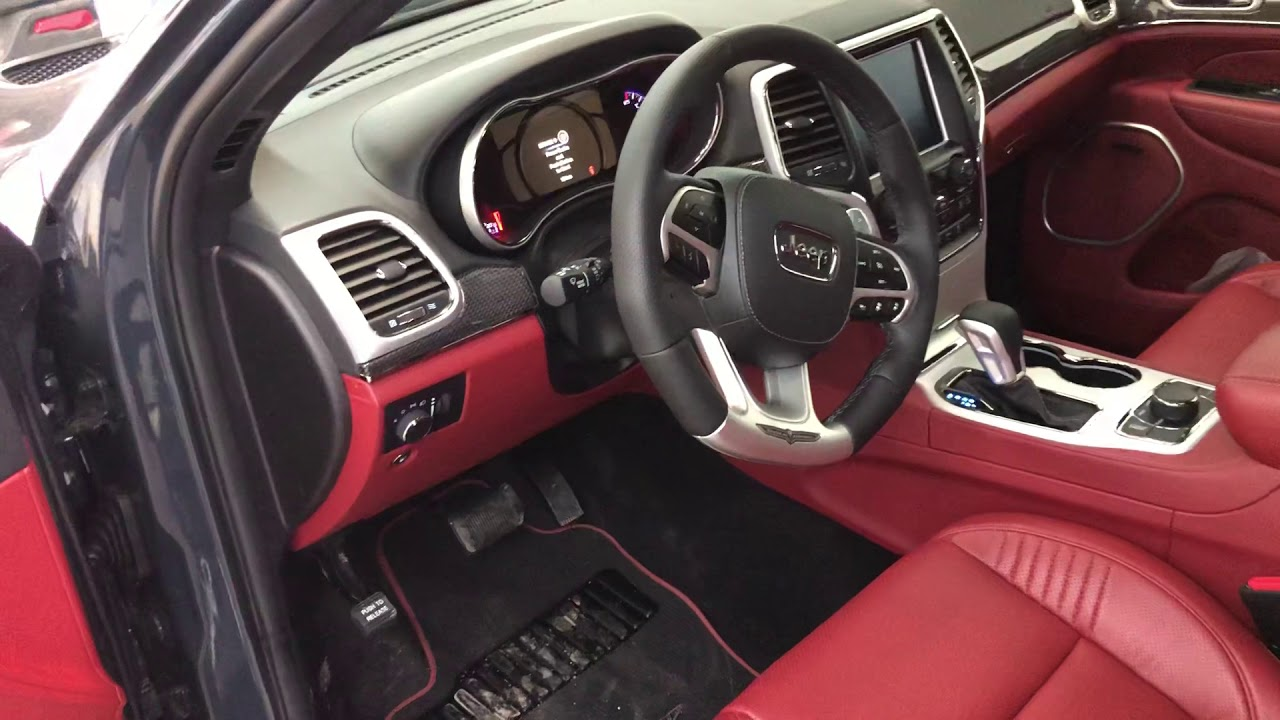 2018 Jeep Grand Cherokee >> Rhino TrackHawk Jeep Grand Cherokee Supercharged 6.2L V8 ...