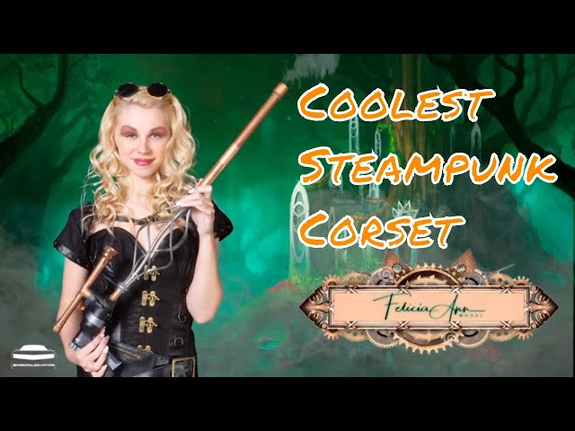 Coolest Steampunk Corset Review