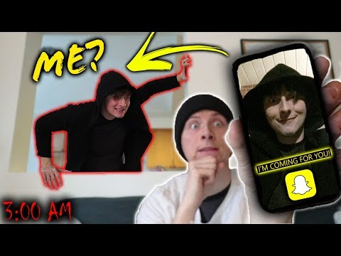 DO NOT SNAPCHAT YOURSELF AT 3 AM!! (GONE WRONG)