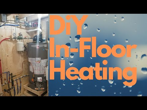 DIY In-Floor Hydronic Heating System Using Water Heater
