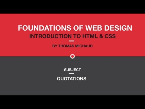 Ch02 - 04 HTML: Quotations