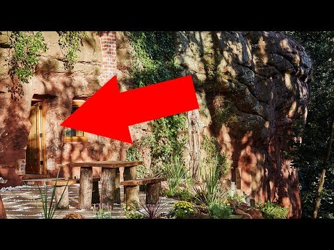 What's Behind His Rock Wall Is The Last Thing You'd Expect. This Is Incredible