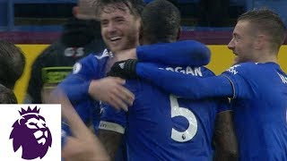 Leicester's Wes Morgan scores last-minute winner against Burnley | Premier League | NBC Sports