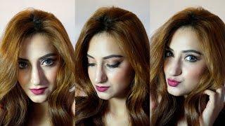Dramatic Fall Makeup Tutorial - Coppery Eyes + Plum Lips! | Aishwarya Kaushal