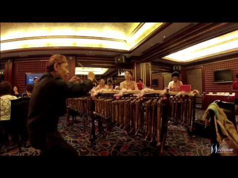 GoPro Hero3 Silver Edition || You Raise Me Up (Angklung Version)
