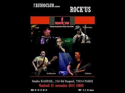 ROCK'US  NOV  2014  STUDIO RASPAIL