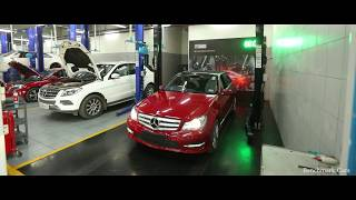 Mercedes-Benz Benchmark Cars Premier Express Service