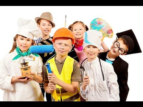 профессии игра  для детей