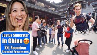 Justus spricht mit Chinesen 😍 XXL Shanghai Appartement Roomtour! 老外在上海 China Vlog 10 | Mamiseelen