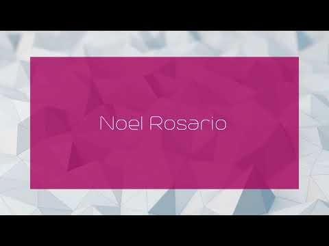 Noel Rosario - appearance