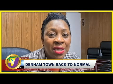 Denham Town Back to Normal   TVJ News - July 21 2021