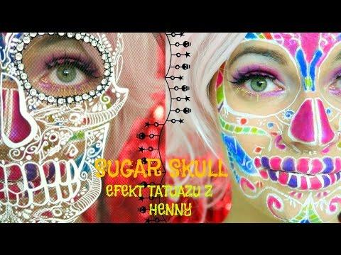 💀-halloween-💀-sugar-skull-efekt-tatuaŻu-z-henny