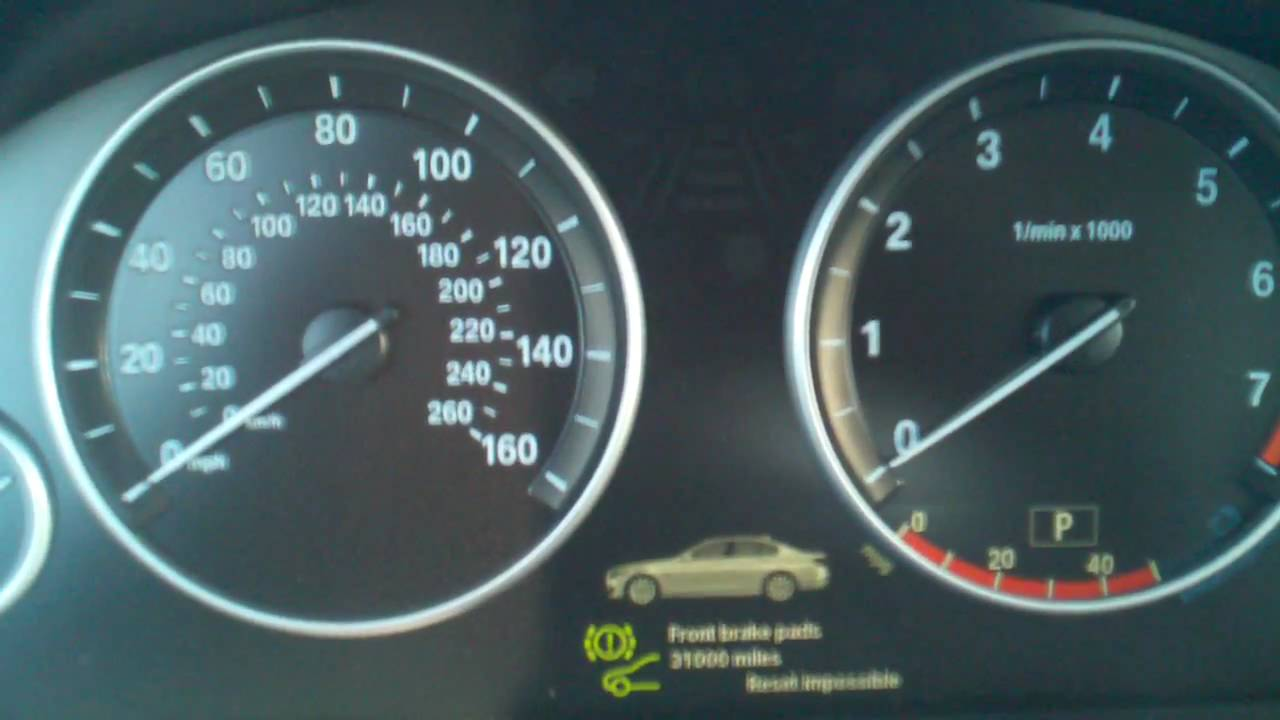 hight resolution of bmw service reset 5 series f10