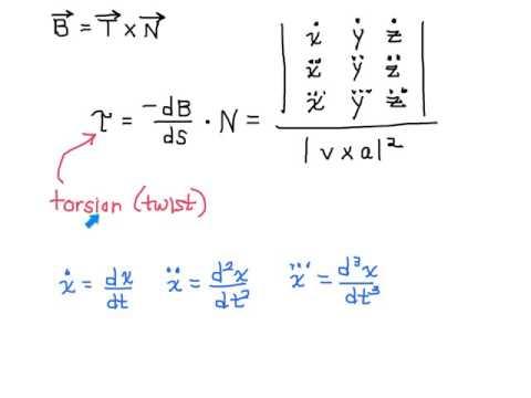 Torsion and the Binormal Vector