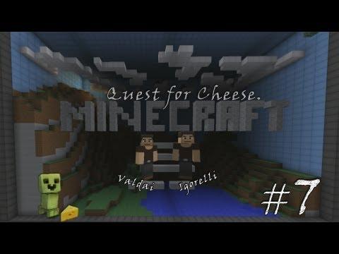 Смотреть прохождение игры Minecraft Quest for Cheese. Серия 7 - Ванная комната и ее обитатели.