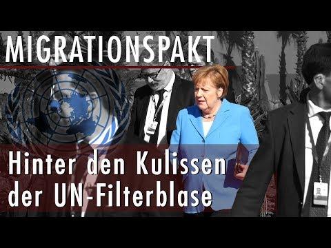 #Migrationspakt in Marrakesch angenommen! Merkel & Medien in der UN-Filterblase