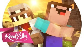 Old Town Road Paródia Lil Nas X -  ft. Billy Ray Cyrus Minecraft Animation