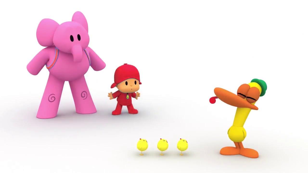 POCOYO en español Pocoyo y los Pollitos Dibujos Animados para Niños