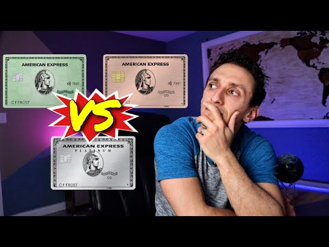 Amex Platinum Vs Amex Gold Vs Amex Green | Which Is The Best American Express Travel Card