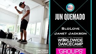 Groups || JUN QUEMADO || Janet Jackson – SloLove || Worldwide Dance Camp 2015 || Russia