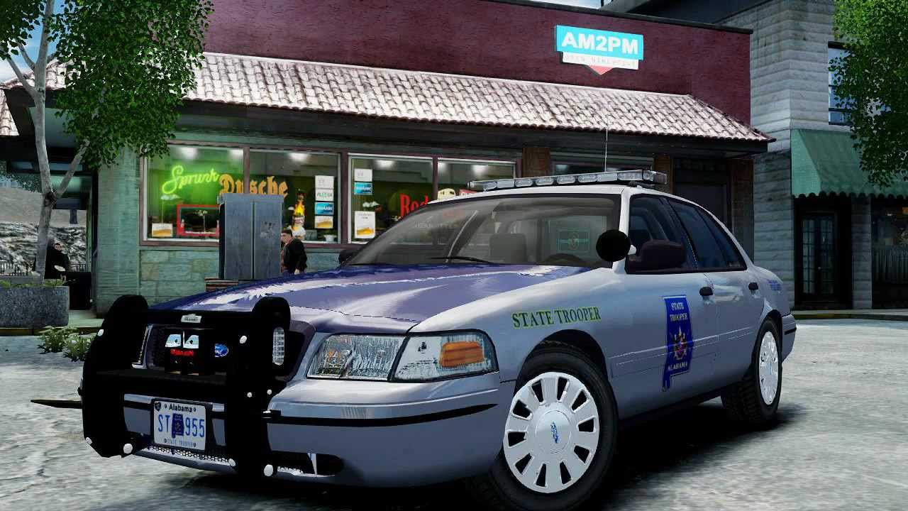 RELIV Alabama State Police 2008 Crown Victoria  YouTube