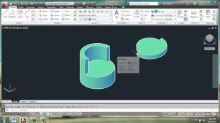 Autocad 2013 - 3d Modeling Basics - Side Chair - Brooke Godfrey