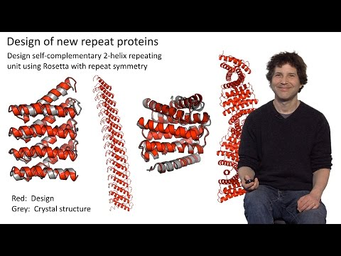 David Baker (U. Washington / HHMI) Part 1: Introduction to Protein Design