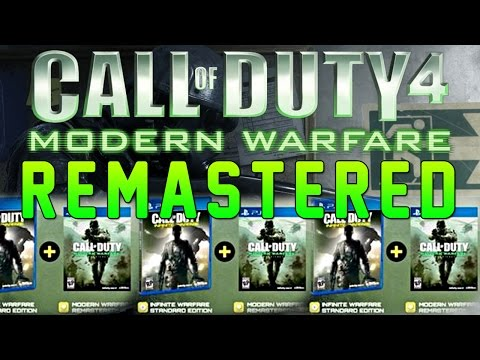 Call Of Duty 4 Modern Warfare Remastered - All Details Maps, Weapons, Gamemodes