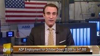 LIVE - Floor of the NYSE! Nov. 4, 2016 Financial News - Business News - Stock Exchange - Market News