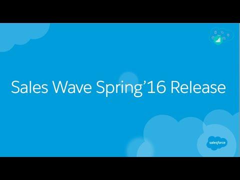 Salesforce Analytics Cloud: Sales Wave Spring'16 Release