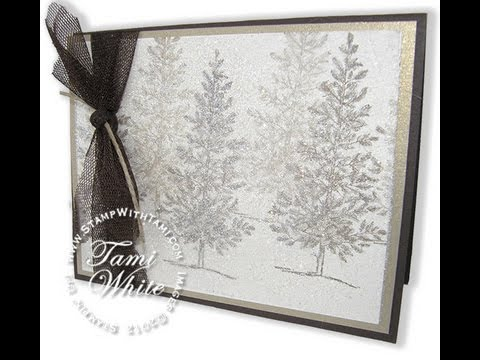Dazzling Dryer Sheet Holiday Sparkle Card Featuring