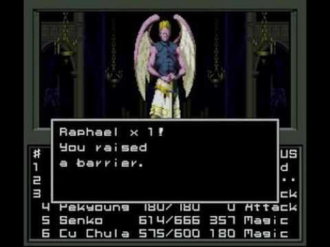 Shin Megami Tensei - Raphael Battle