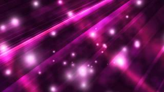 violet rays with white particles