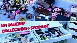 Разбор косметики | Организация и хранение косметики | Туалетный столик