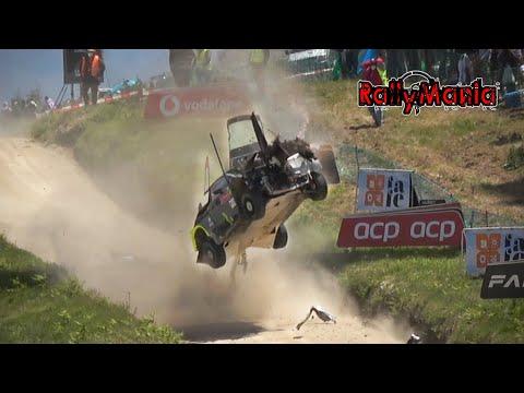 Download WRC Vodafone Rally de Portugal 2021 - CRASH, FLAT OUT & BIG SHOW [HD]