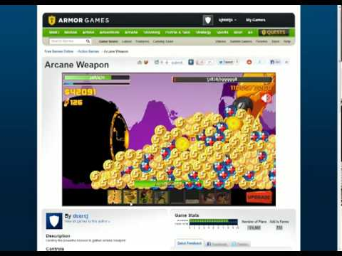 Arcane Weapon - Win Hard Difficulty BOSS On 1999998hp