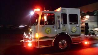 GWFC Engine 52-1 Responding to a Box Alarm 2/10/19